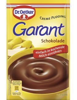 Dr. Oetker Garant Creme Pudding Schokolade  - 4000521251000