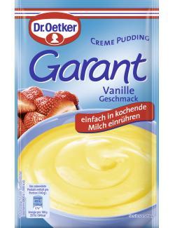 Dr. Oetker Garant Creme Pudding Vanille  - 4000521250003
