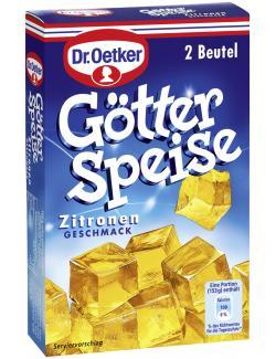 Dr. Oetker Götterspeise Zitronen Geschmack  (23 g) - 4000521346300