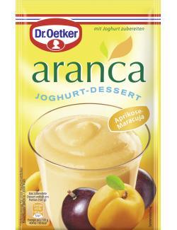 Dr. Oetker Aranca Joghurt-Dessert Aprikose-Maracuja  - 4000521458607