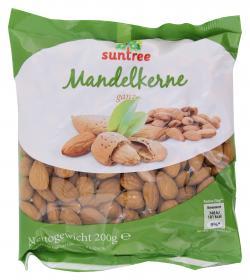 Suntree Mandelkerne ganz  (200 g) - 4009012006495
