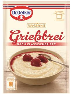 Dr. Oetker Süße Mahlzeit Grießbrei nach klassischer Art  (92 g) - 4000521771003