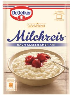 Dr. Oetker S��e Mahlzeit Milchreis nach klassischer Art  (125 g) - 4000521770006