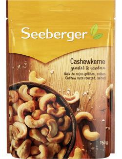 Seeberger Cashewkerne geröstet & gesalzen  (150 g) - 4008258038000