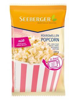 Seeberger Mikrowellen Popcorn süß  (100 g) - 4008258526002