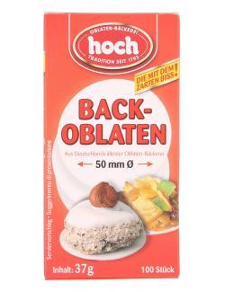 Hoch Backoblaten 50mm  (100 St.) - 4000266610506