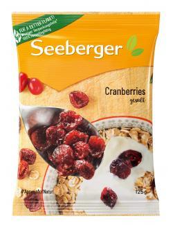 Seeberger Cranberries  (125 g) - 4008258185001