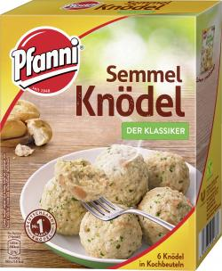 Pfanni Semmel Knödel in Kochbeuteln  (6 St.) - 4000400136053