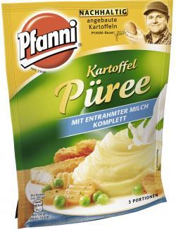 Pfanni Kartoffel Püree mit entrahmter Milch komplett  - 4032600122086