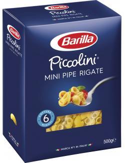 Barilla Piccolini Mini Pipe Rigate  (500 g) - 8076809527521