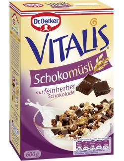 Dr. Oetker Vitalis Schoko M�sli feinherb  (600 g) - 4000521663605