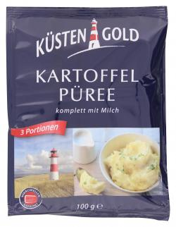 Küstengold Kartoffelpüree komplett mit Milch  (100 g) - 4000137081688