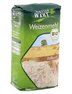 NaturWert Bio Weizenmehl Vollkorn  (1 kg) - 4250286167027