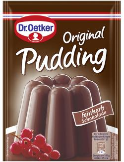 Dr. Oetker Original Pudding feinherbe Schokolade  (144 g) - 4000521005009
