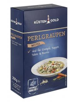 K�stengold Perlgraupen mittel  (250 g) - 4250426201963