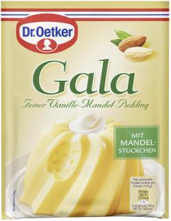 Dr. Oetker Gala Feiner Vanille-Mandel-Pudding  (123 g) - 4000521225506
