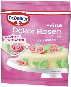 Dr. Oetker Feine Dekor Rosen  (66 g) - 4000521006341