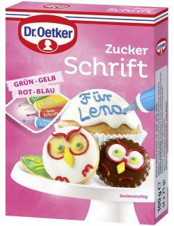 Dr. Oetker Zuckerschrift  (100 g) - 4000521006426