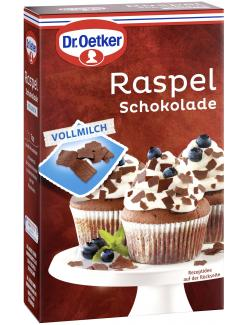 Dr. Oetker Raspel Schokolade Vollmilch  (100 g) - 4000521006563