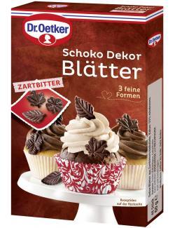 Dr. Oetker Schoko Dekor Bl�tter Zartbitter  (60 g) - 4000521006662