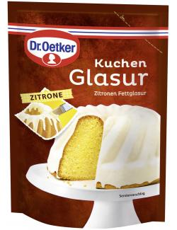 Dr. Oetker Kuchen Glasur Zitrone  (125 g) - 4000521006907