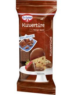 Dr. Oetker Kuvertüre Vollmilch  (150 g) - 4000521007003