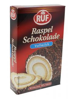 Ruf Raspel Schokolade Vollmilch  (100 g) - 4002809004315