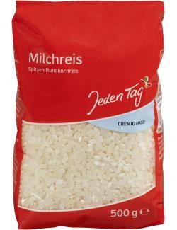 Jeden Tag Milchreis Spitzen Rundkornreis  (500 g) - 4306188046752
