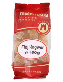 Meienburg Fidji-Ingwer kandiert  (150 g) - 4009790004355