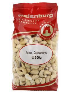 Meienburg Jumbo-Cashewkerne  (500 g) - 4009790003815