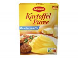 Maggi Kartoffel P�ree Das Komplette  (2 x 3 por) - 4005500013495
