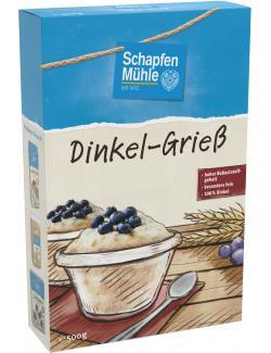 Schapfenm�hle Dinkel-Grie�  (500 g) - 4000950562401