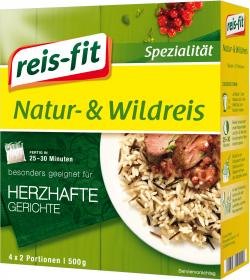 Reis-fit Natur & Wildreis  (500 g) - 4006237090148