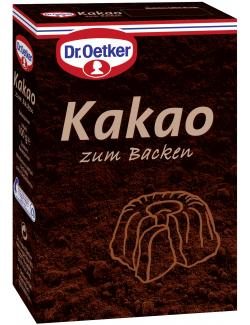 Dr. Oetker Kakao zum Backen  (100 g) - 4000521005450