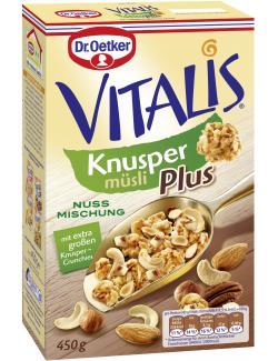 Dr. Oetker Vitalis Knusper Plus Nussmischung  (450 g) - 4000521005870