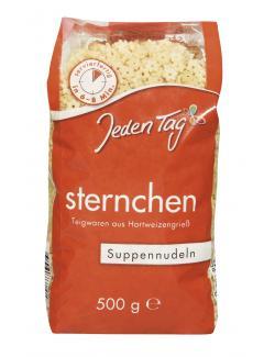 Jeden Tag Suppennudeln Sternchen  (500 g) - 4306188048282