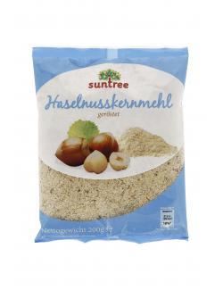 Suntree Haselnusskernmehl ger�stet  (200 g) - 4009012006914