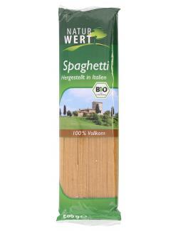 NaturWert Bio Spaghetti Vollkorn  (500 g) - 4041357601003