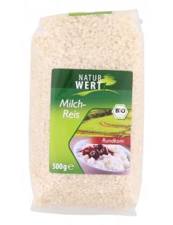 NaturWert Bio Milchreis Rundkorn  (500 g) - 4019339071083