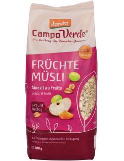 Demeter Campo Verde Früchte Müsli  (500 g) - 4045178002407