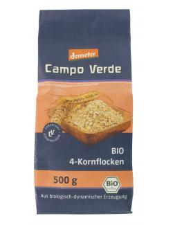 Demeter Campo Verde Bio 4-Kornflocken  (500 g) - 4045178002100