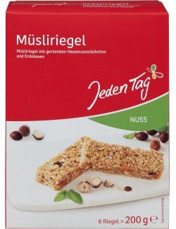 Jeden Tag M�sliriegel Nuss  (200 g) - 4306188047254