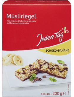 Jeden Tag Müsliriegel Schoko-Banane  (200 g) - 4306188047230