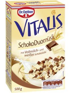 Dr. Oetker Vitalis Schoko Duo Müsli  (500 g) - 4000521008871