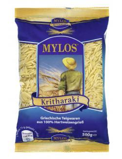 Mylos Kritharaki Griechische Teigwaren aus 100% Hartweizengrieß  (500 g) - 4260122510405