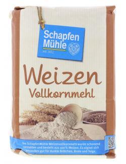 Schapfenm�hle Weizen Vollkornmehl  (1 kg) - 4000950006127