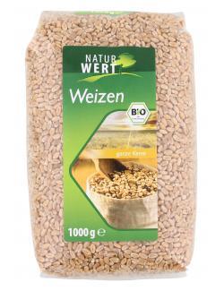 NaturWert Bio Weizen ganze Kerne  (1 kg) - 4019339001882