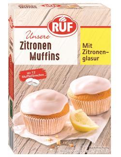 Ruf Muffins American Style Zitrone  (410 g) - 4002809033919
