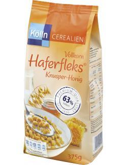 K�lln Vollkorn Haferfleks Knusper-Honig  (375 g) - 4000540001013