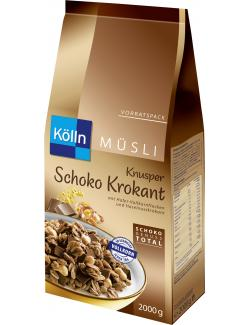 Kölln Müsli Knusper Schoko Krokant  (2 kg) - 4000540013573